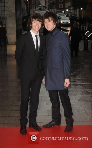 Alex Turner and Miles Kane of The Last Shadow Puppets 2008 Mercury Music Prize held at the Grosvenor House Hotel...