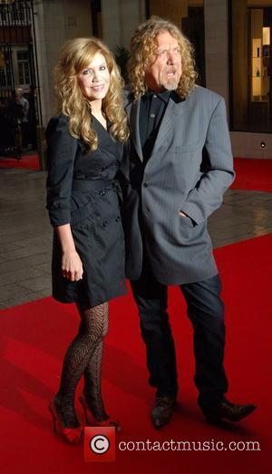 Alison Krauss and Robert Plant 2008 Mercury Music Prize held at the Grosvenor House Hotel - Arrivals London, England -...