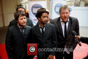 Elbow 2008 Mercury Music Prize held at the Grosvenor House Hotel - Arrivals London, England - 09.09.08