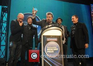 Elbow and Jools Holland Elbow are awarded the 2008 Mercury Music Prize  London, England - 09.09.08