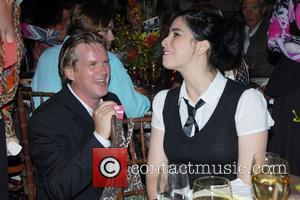 Cary Elwes and Sarah Silverman Music For Mercy Corps Hamptons Benefit for Darfur at Hamptons Tuscan Villa, Water Mill,...