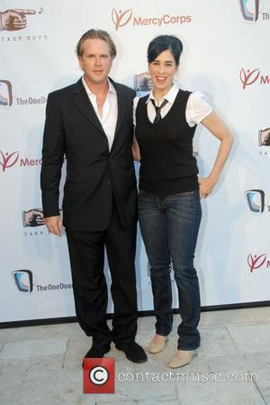 Cary Elwes and Sarah Silverman