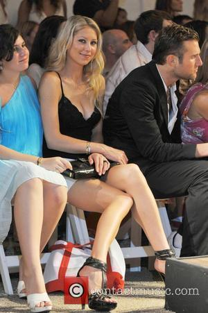 Anna Kournikova at the Red Carter Swimwear 2009 collection during Mercedes-Benz Fashion Week at the Raleigh Hotel  Miami, Florida...
