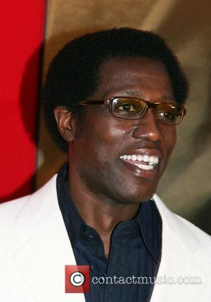 Wesley Snipes Spike Lee Joint premiere of Miracle at St. Anna held at the Ziegfeld Theatre - Arrivals New York...