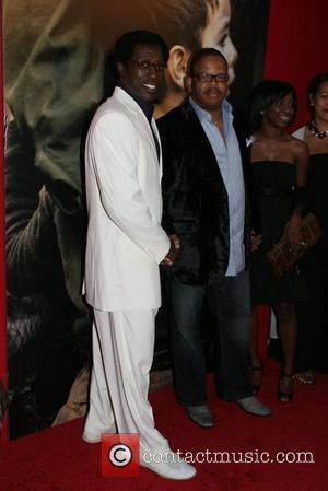 Wesley Snipes, Terrence Blanchard Spike Lee Joint premiere of Miracle at St. Anna held at the Ziegfeld Theatre - Arrivals...
