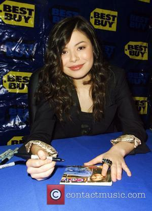 Miranda Cosgrove at a CD signing promoting the new album of music from her hit TV show iCarly at Best...