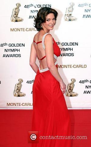 Alana de la Garza Golden Nymph awards ceremony - arrivals during the 2008 Monte Carlo Television Festival held at Grimaldi...