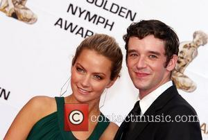 Becki Newton and Michael Urie