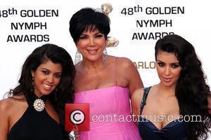 Kim Kardashian, Kourtney Kardashian and Kris Kardashian