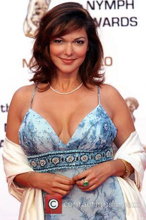 Laura Harring Golden Nymph awards ceremony - arrivals during the 2008 Monte Carlo Television Festival held at Grimaldi Forum...