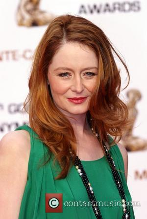 Miranda Otto Golden Nymph awards ceremony - arrivals during the 2008 Monte Carlo Television Festival held at Grimaldi Forum Monte...