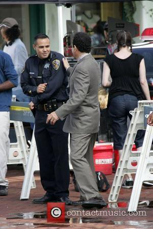 Tony Shalhoub on the film set for USA's 'Monk' Los Angeles, California - 23.07.08