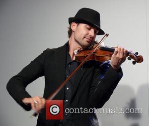 David Garrett performing live Premiere Montblanc Star at KaDeWe department store Berlin, Germany - 04.09.08