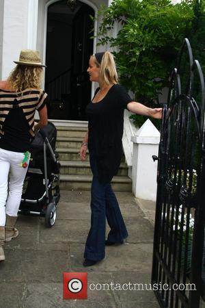Davinia Taylor and Jenny Frost return to Taylor's home before meeting Kate Moss and Jamie Hince and taking a cab...