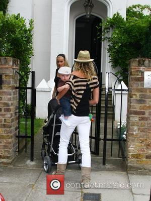 Davinia Taylor and Jenny Frost  return to Taylor's home before meeting Kate Moss and Jamie Hince and taking a...