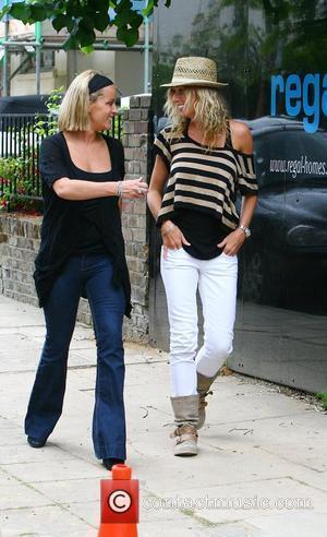 Davinia Taylor, Jenny Frost and Kate Moss