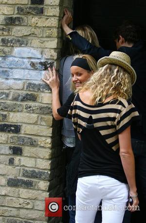 Kate Moss, Davinia Taylor and Jenny Frost