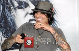 Tommy Lee of Motley Crue  Launch of 'Guitar Centre On-Stage' with the 'Make Rock History' event Hollywood, California -...
