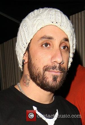A.J McLean leaving Movida night club London, England - 06.06.08