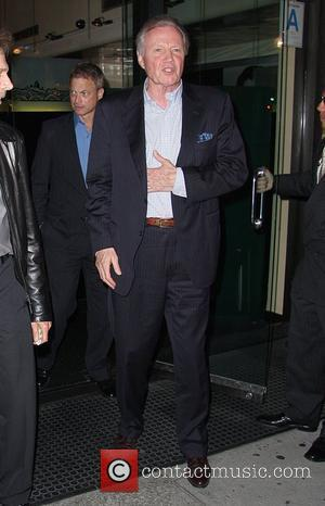 Gary Sinise and Jon Voight leaving Mr Chow restaurant in Beverly Hills Los Angeles, California - 19.06.08
