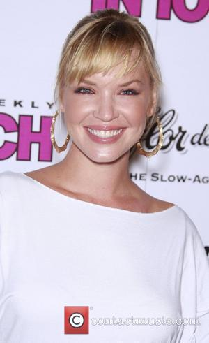 Ashley Scott In Touch VMA Post Party at Chateau Marmont - arrivals Hollywood, California - 07.09.08