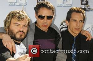 Jack Black, Mtv and Robert Downey Jr