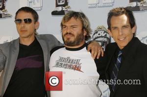 Robert Downey Jr, Jack Black and Mtv