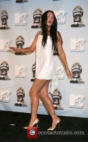 Megan Foxx 2008 MTV Movie Awards held at the Gibson Amphitheater - press room Universal City, California USA - 01.06.08