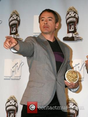 Robert Downey Jr and Mtv