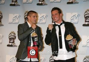 Sean Faris and Cam Gigandet 2008 MTV Movie Awards held at the Gibson Amphitheater - press room Universal City, California...