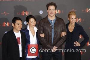 Jet Li, Michelle Yeoh, Brendan Fraser, Maria Bello The Mummy: Tomb of the Dragon Emperor (Die Mumie: Das Grabmal des...