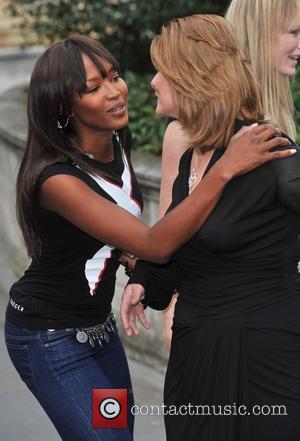 Sarah Brown and Naomi Campbell