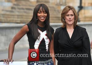 Sarah Brown and Naomi Campbell Fashion for Relief photocall held at the Natural History Museum London, England - 8.09.08