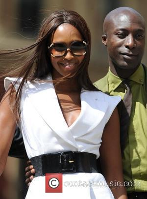 Naomi Campbell and Ozwald Boateng