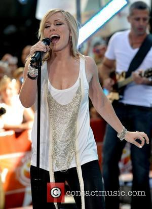 Natasha Bedingfield  performs live on The Today Show's Summer Concert Series at the Rockefeller Plaza New York City, USA...