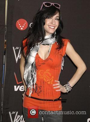 Kate Voegele Autograph signing for Natasha Bedingfield and tour mates, The Veronicas, held at Verizon Wireless Communications Store in Soho...