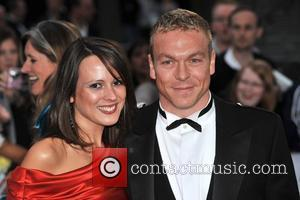 Chris Hoy and guest The National Movie Awards held at the Royal festival Hall - Arrivals London, England - 8.09.08