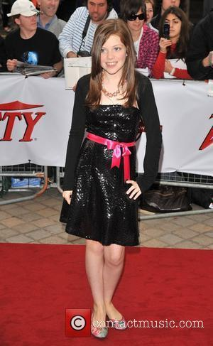 Georgie Henley The National Movie Awards held at the Royal festival Hall - Arrivals London, England - 08.09.08