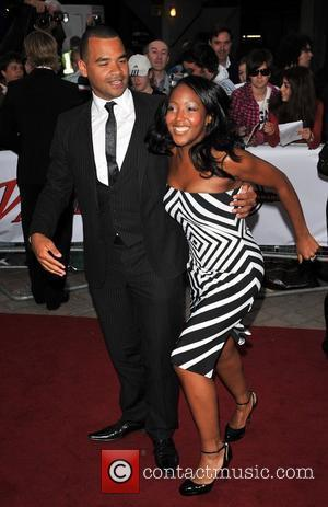 Michael Underwood and Angellica Bell  The National Movie Awards held at the Royal festival Hall - Arrivals London, England...