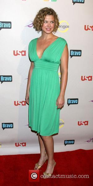 Adrianne Palicki   NBC Universal 2008 Press Tour All-Star Party held at  The Beverly Hilton Hotel  Beverly...
