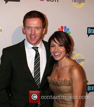 Damian Lewis and Sarah Shahi