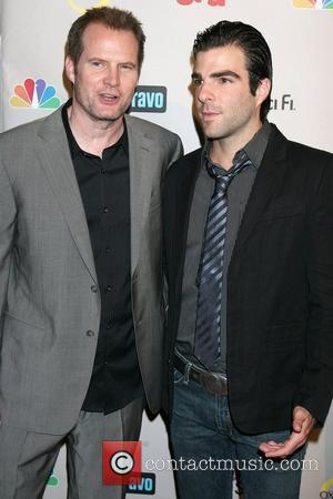 Jack Coleman and Zachery Quinto  NBC TCA Party at the Beverly Hilton Hotel - Arrivals Beverly Hills, California -...