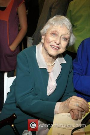 Celeste Holm at the opening of The Arts Horizons LeRoy Neiman Art Center  Art Horizons has brought over 7,000.000...