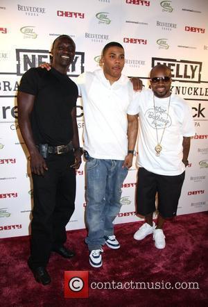 Akon, Nelly and Jermaine Dupri