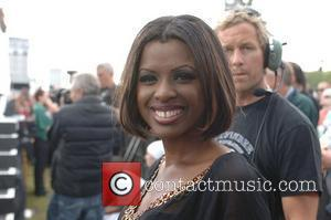 June Sarpong  backstage at the '46664' concert honouring Nelson Mandela's 90th birthday at Hyde Park London, England - 27.06.08