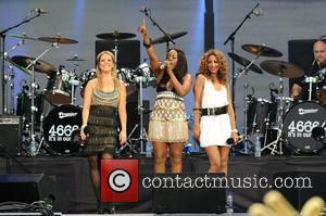 Sugababes and Nelson Mandela