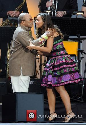 Leona Lewis and Quincy Jones