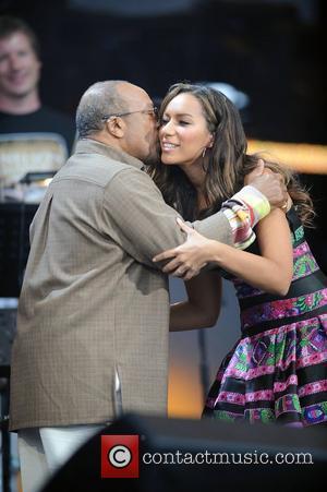 Quincy Jones and Nelson Mandela