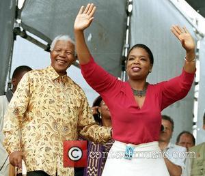 Nelson Mandela and Oprah Winfrey