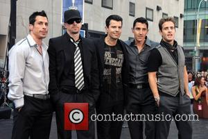 Danny Wood and Donnie Wahlberg